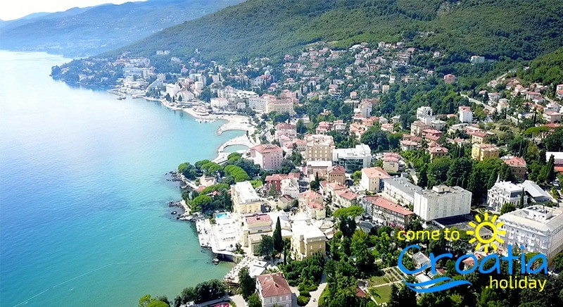 Opatija - Town on the northeast tip of the Istrian peninsula