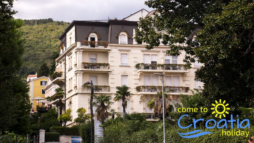 Accommodation in Opatija