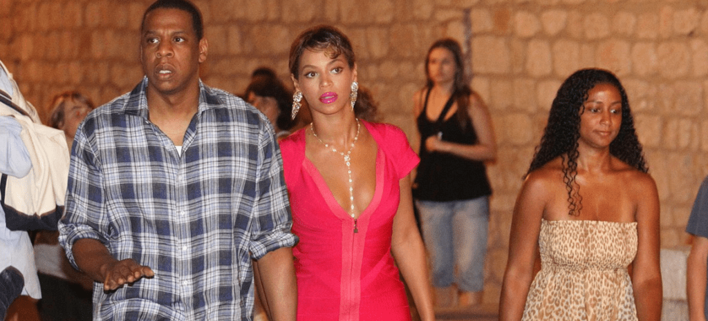Beyonce and Jay Z in Dubrovnik