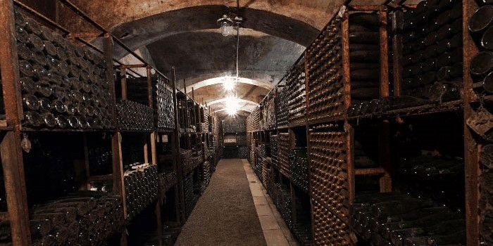 Croatian Wine Archive In Kutjevo Winery
