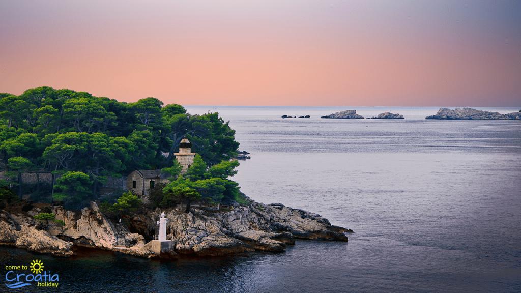 Sunset in Dubrovnik