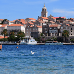 City of Korčula on the island Korčula