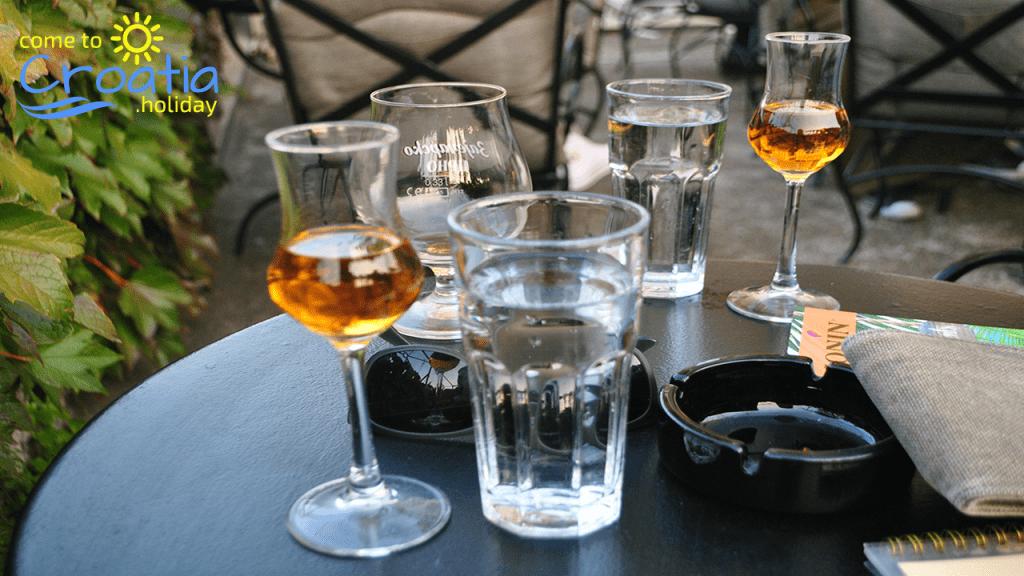 Traditional Acoholic drinks in Croatia
