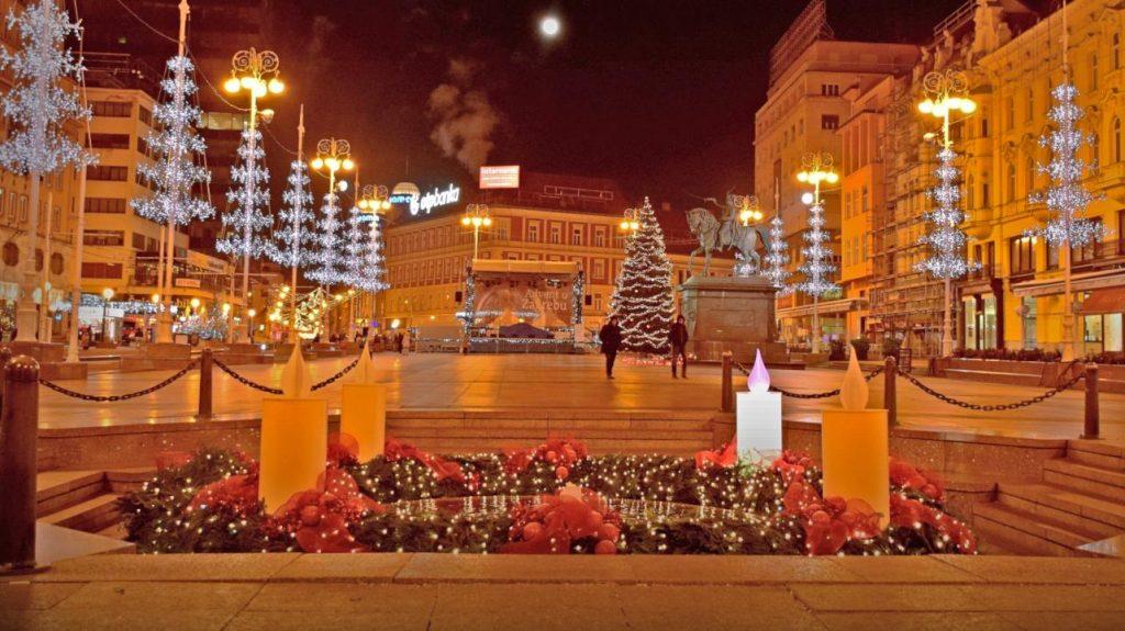 Advent Lights in Zagreb
