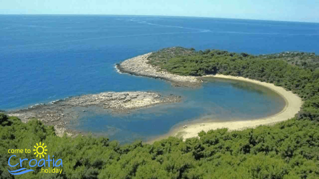 The Saplunara Beach, island of Mljet