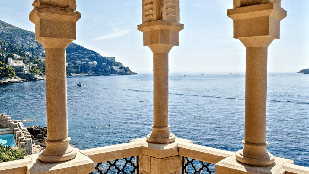 Spectacular view from Dubrovnik's balconies