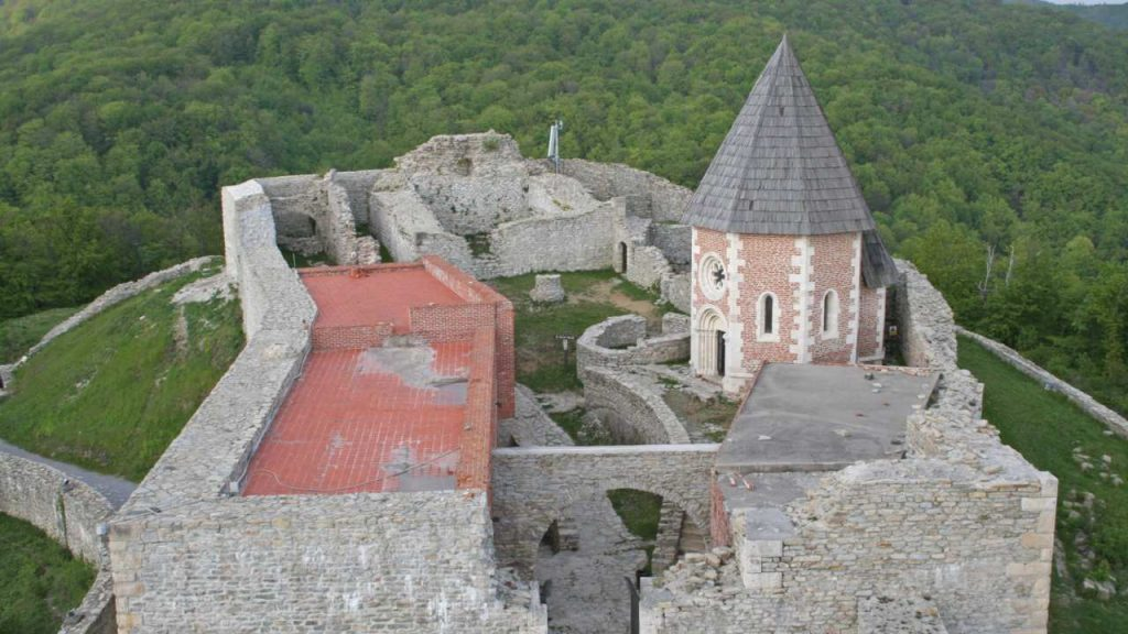 The Medieval Fortified Town of Medvedgrad
