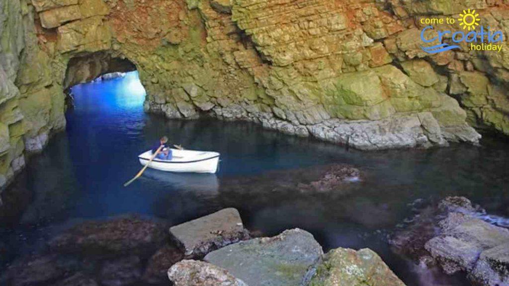 Famous Odyssey's Pit on Mljet