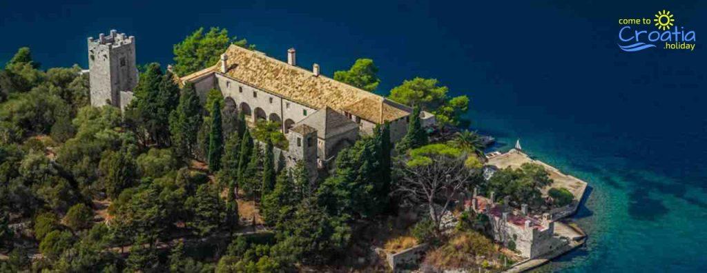 Intact Roman Palace on Mljet