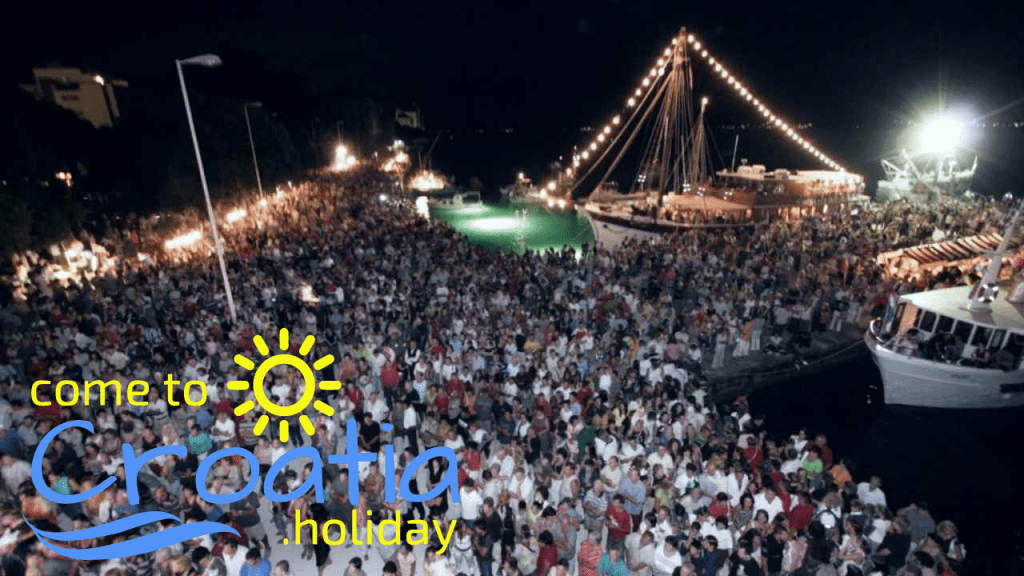 Zadar the Night of the Full Moon