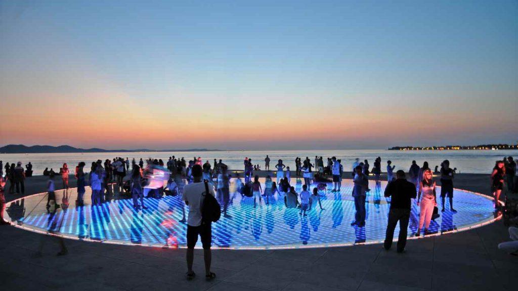 Zadar - Monument to the Sun