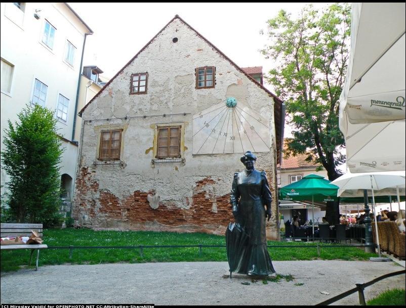 The Statue of Marija Jurić Zagorka