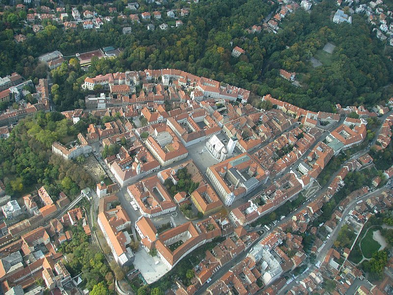 Zagreb from the Sky