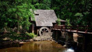 Watermill on Kupa Kanyon