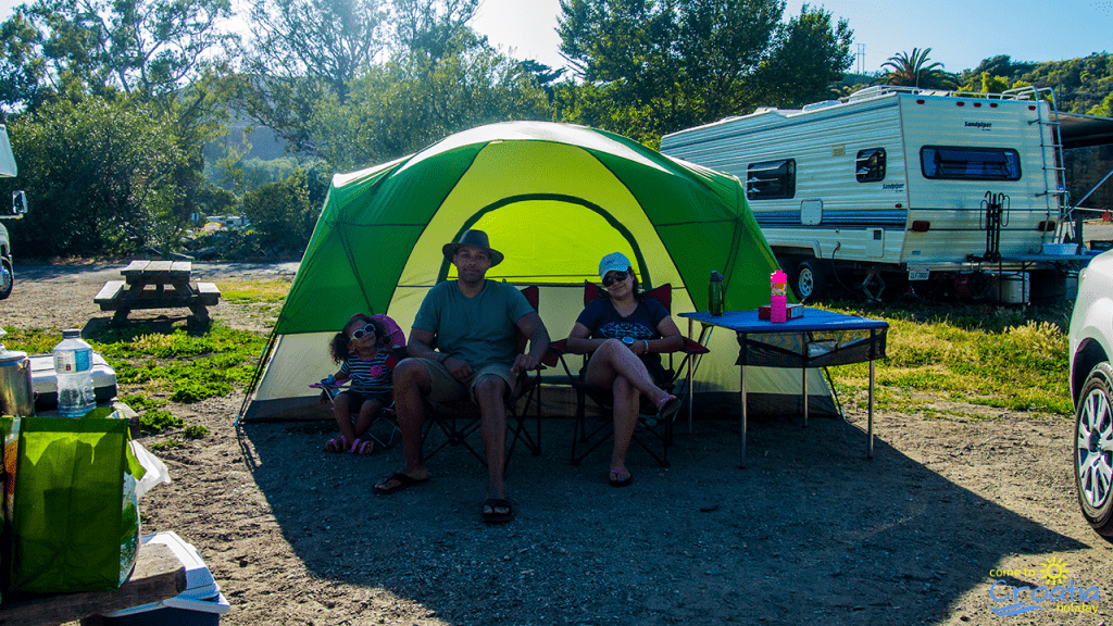Happy Family Camping in Istria