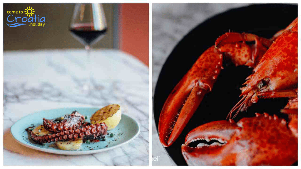 Sea food - What to Eat in Croatia
