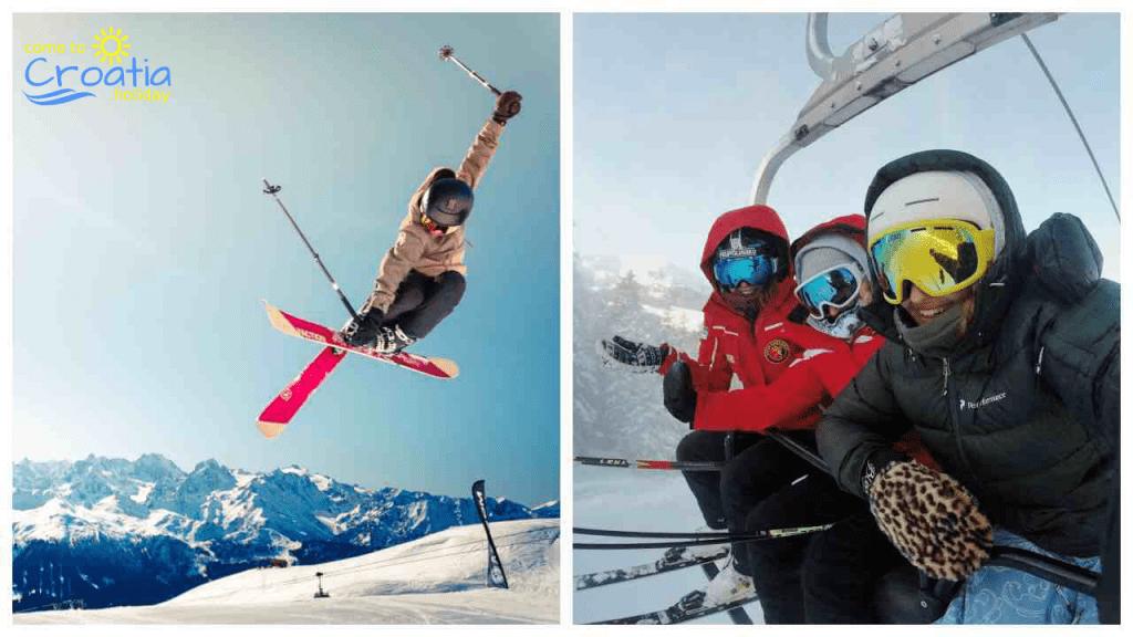 Skiing in Croatia