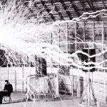 Nikola Tesla and his Equipment
