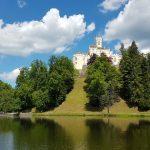 The Trakošćan castle