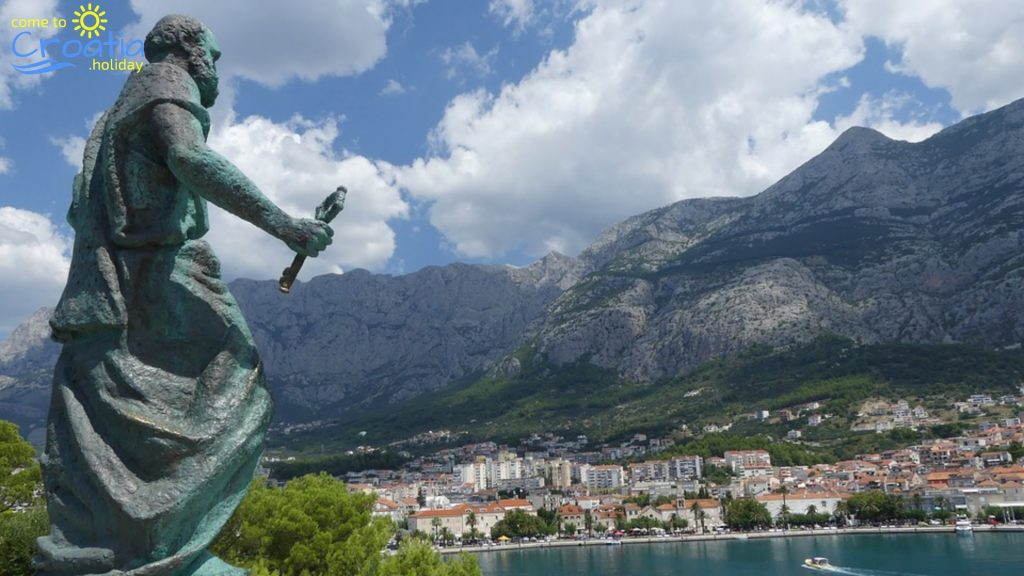Makarska Mountain Saint