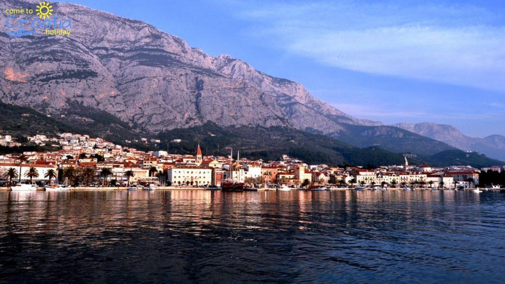 The View of Makarska City
