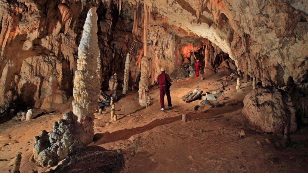Cerovac Caves Sculptures