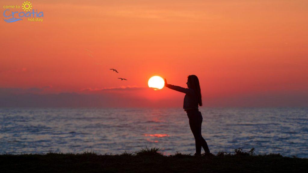 Sunset at Slano
