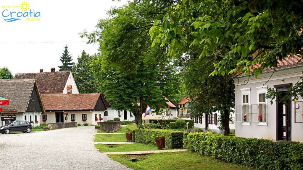 The authentic look of Zagorje villages