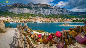 View on Makarska